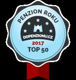 Penzion roku top 50